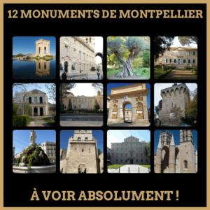 TOP : 12 monuments de Montpellier à vois absolument!