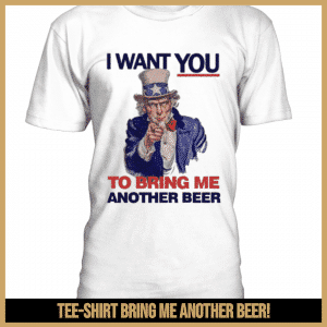 Tee-shirt bring me another beer