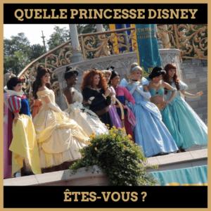 Quiz : Quelle princesse Disney êtes-vous ?