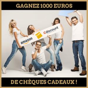 Concours : Gagnez 1000 euros de chèques cadeaux !
