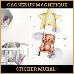 Concours : Gagnez un magnifique sticker mural !