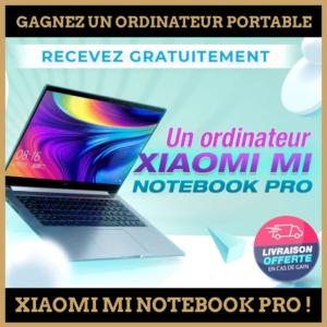 Concours : Gagnez un ordinateur portable xiaomi !