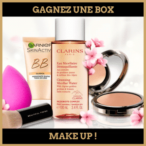 Concours : Gagnez une box make up !