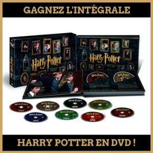 Concours : Gagnez l'intégrale Harry Potter en DVD!