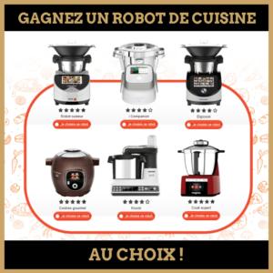 concours : gagnez un robot de cuisine au choix