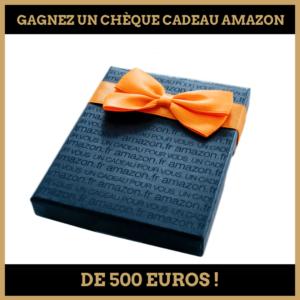 Concours : Gagnez un chèque cadeau Amazon de 500 euros!