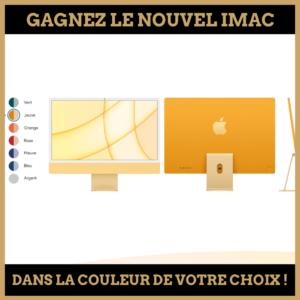 Concours : Gagnez le nouvel iMac !
